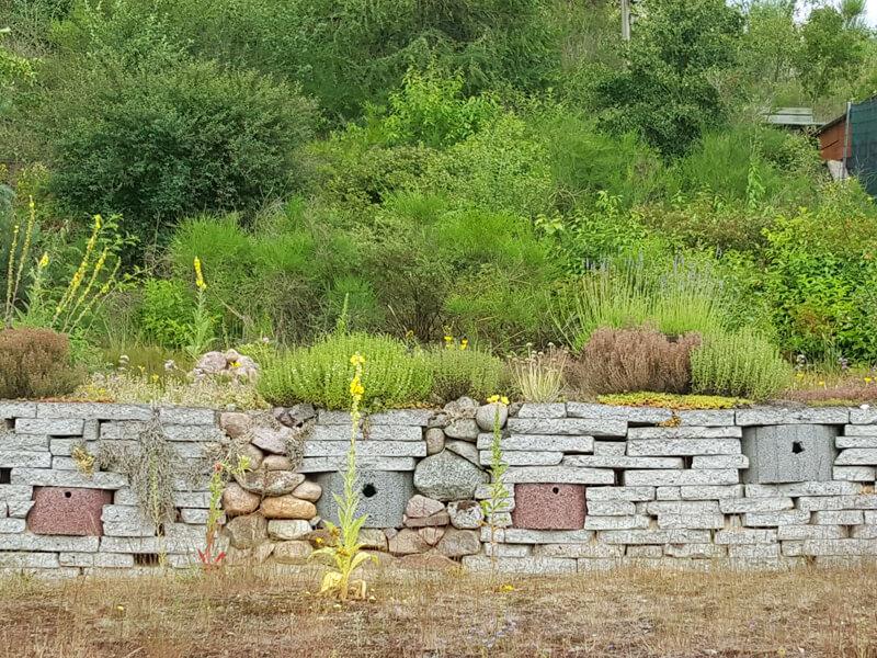 Anleitung für den Bau einer Trockenmauer