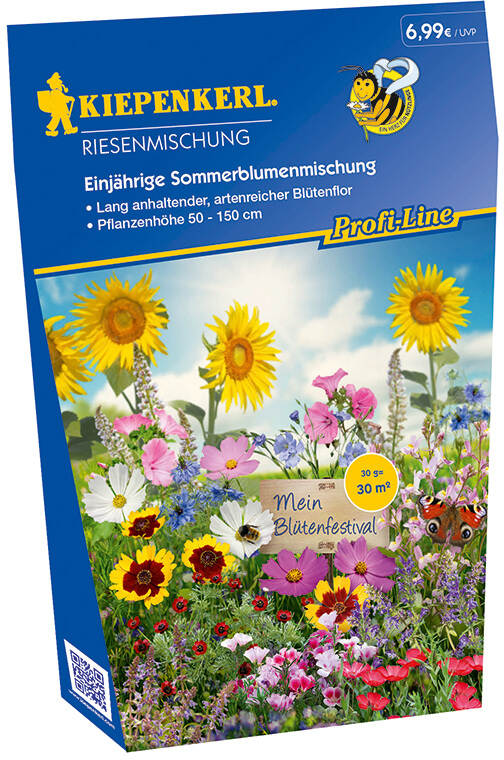 Einjährige Sommerblumenmischung von Kiepenkerl